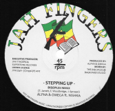 Alpha & Omega ft Nishka - Stepping Up / Dub 1 / Dub 2 (Jah Fingers) 12""